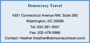 Democracy Travel Info