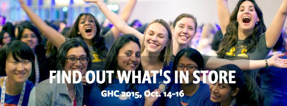 Grace Hopper Celebration 2015