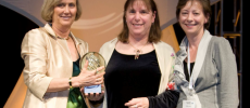 Elaine Weyuker Receives Anita Borg Technical Leadership Award