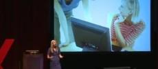 Jaime Teevan presenting TedX