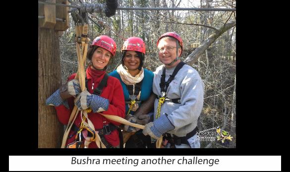 Bushra and Academic Colleagues