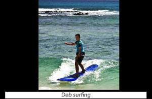 Deb Agarwal Surfing