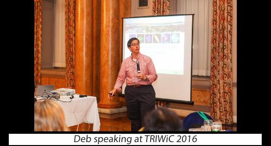 Deb at TRIWIC 2016
