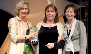 Elaine Weyuker Receives Anita Borg Technical Leadership Award