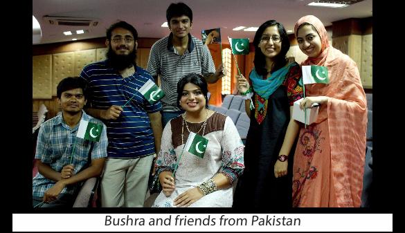 Bushra and Friends