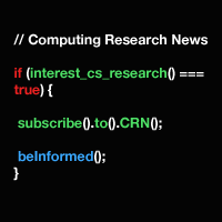 Subscribe to Computing Research News