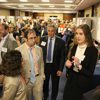 NSF-Director-France-Cordova-(left)-listens-to-Gudrun-Jonsdottir-(left),-while-Nick-Feamster-and-Rush-Holt-(center)-look-on