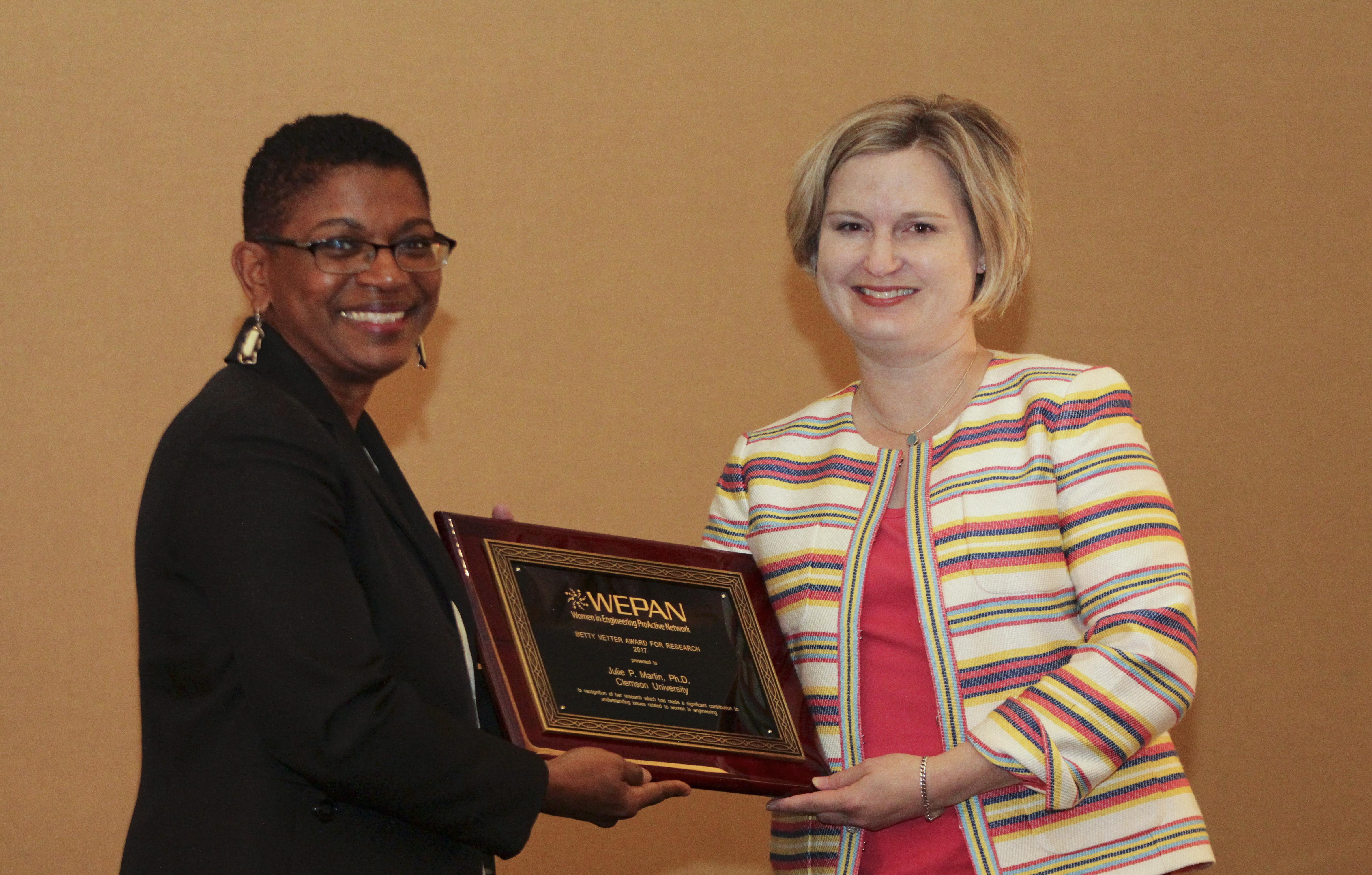 Betty Vetter Award