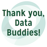 Thank you data buddies
