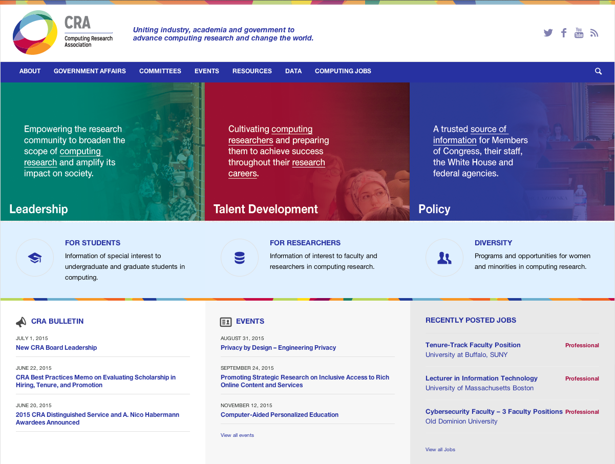 check out the new cra org