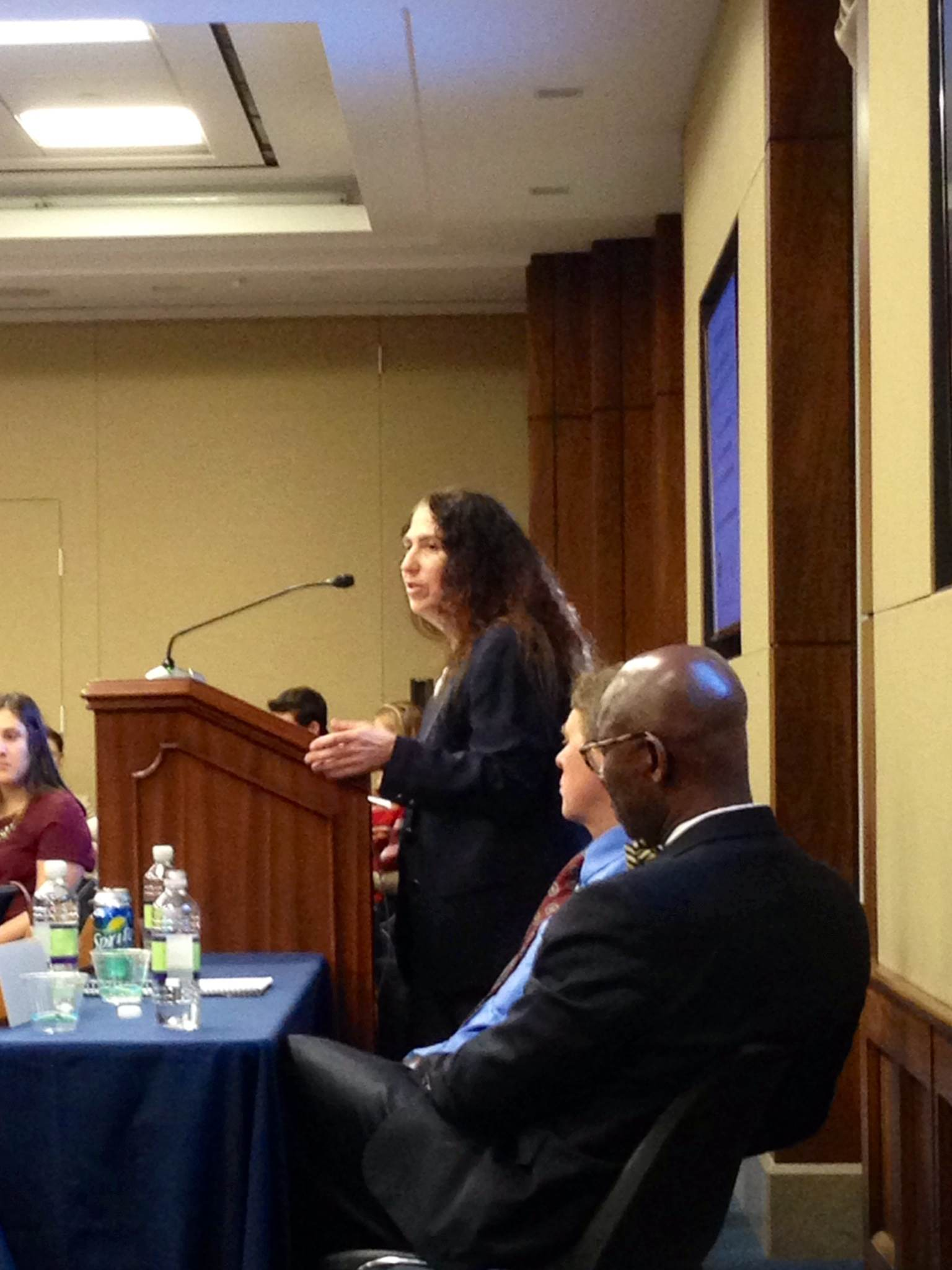 Nancy Amato presenting at the STEM Congressional Briefing