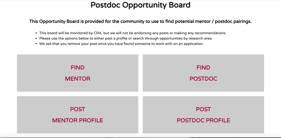 Opportunity Board